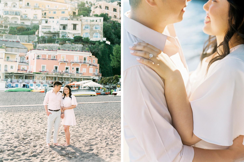 Engagement session Amalfi coast Italy