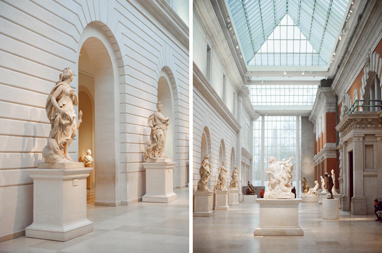 New York engagement session Metropolitan Museum